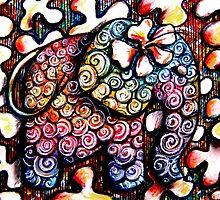 Tattoo Elephant  by © Karin (Cassidy) Taylor