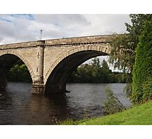 A Bridge in Dunkeld Photographic Print
