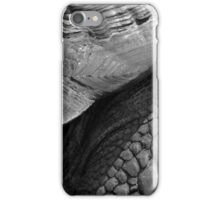 Scales of a giant tortoise - photograph iPhone Case/Skin