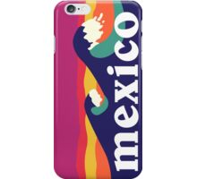 Mexico surfing waves iPhone Case/Skin