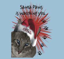 Santa Paws Tee by Terri Chandler