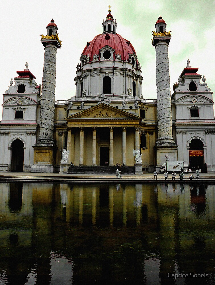 Karlskirche Cathedral by Caprice Sobels