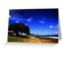 Hawaiian Day Dream Greeting Card