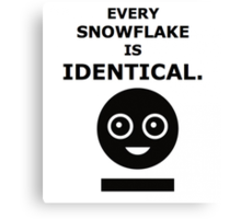 Every Snowflake - MCR Canvas Print