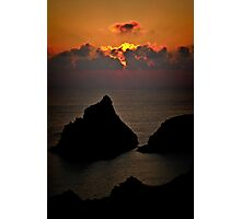 Kynance Sunset Photographic Print