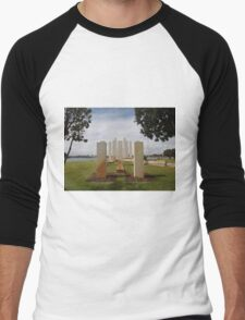 Mandurah War Memorial (2) Men's Baseball ¾ T-Shirt