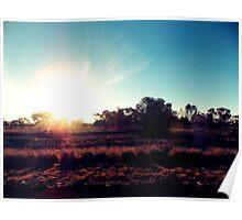 Outback Sunshine Poster
