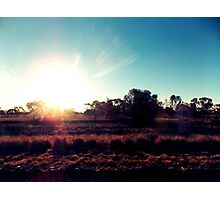 Outback Sunshine Photographic Print