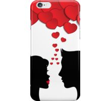 Romantic couple iPhone Case/Skin