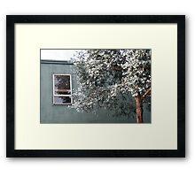 bluegreygreen Framed Print