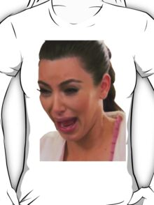 Kim Kardasian Krying T-Shirt