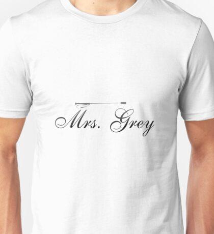 Mrs. Grey Unisex T-Shirt