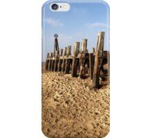Winter's Sun On A Sandy Beach iPhone Case/Skin