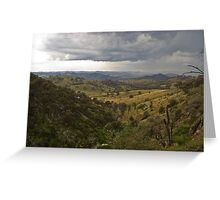 Distant Storm Greeting Card