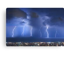 Thunderstorm over Beirut Canvas Print