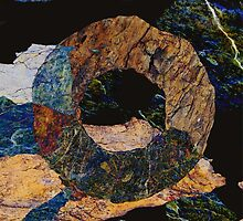 Fracture XLV - photographic montage by Paul Davenport