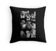Puppies Galore Throw Pillow