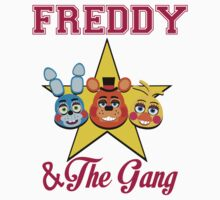 Freddy and The Gang Kids Tee