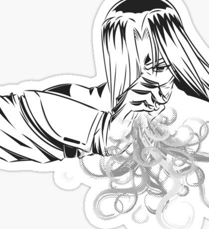 Ninjutsu! Art 43: flame tongue! Sticker