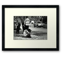 ~The Usual Suspect~ Framed Print