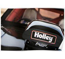 Holley air intake Poster