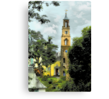 Bell Tower - Portmeirion Village Canvas Print