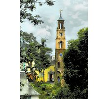 Bell Tower - Portmeirion Village Photographic Print
