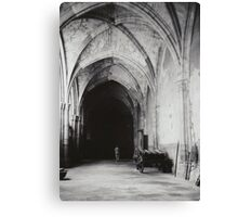 Inside the Cathedral of Toledo Canvas Print
