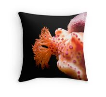 Nudi feathers Throw Pillow