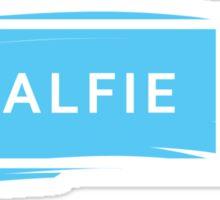 ZALFIE - white Sticker