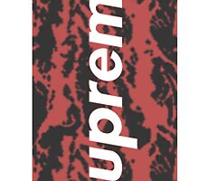 SUPREME Camo Tiger Red by KingKono
