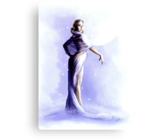 Monday's Child - The Snow Queen Canvas Print