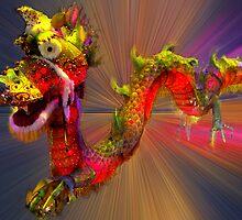 Puff The Magic Dragon by Bev Pascoe