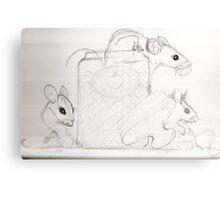 "Sketch ""the Pink sugar mice"" Canvas Print"