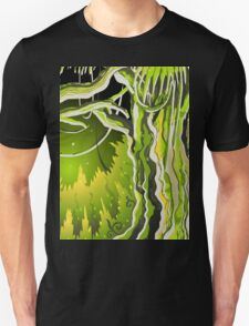 Magic Tale Forest Background Unisex T-Shirt