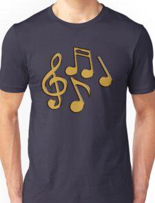 Golden Notes Unisex T-Shirt