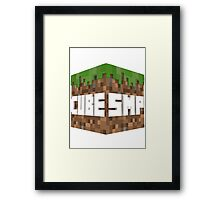 The Cube SMP Framed Print