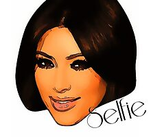 Kim Kardashian (selfie) by leonchristo