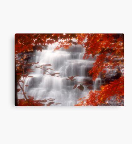Autumn Waterfall I Canvas Print
