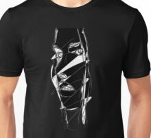 distorted face Unisex T-Shirt