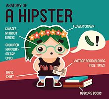 The Hipster by idagoh96