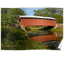 Covered Bridge, Pennsylvania Poster