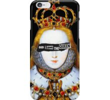 Good Queen Bess iPhone Case/Skin