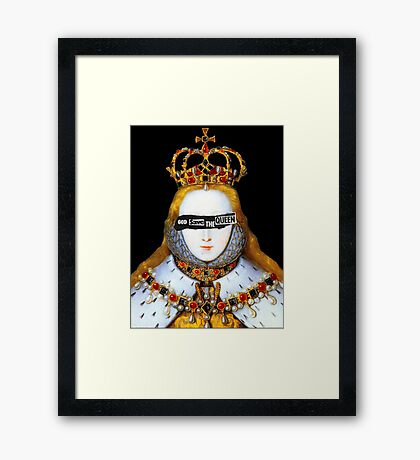 Good Queen Bess Framed Print