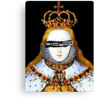 Good Queen Bess Canvas Print