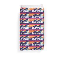 Hawaiian waves Duvet Cover