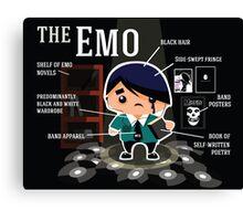 The Emo Canvas Print