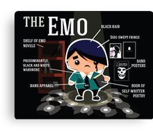 The Emo Canvas Print