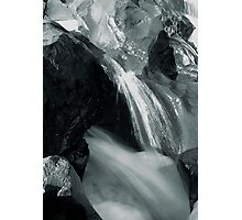 Marriage of Rock and Water Photographic Print