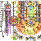 summer sketches by terezadelpilar~ art & architecture